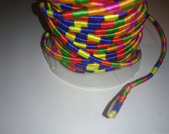 1 meter of cotton cord 6 color