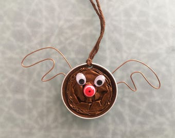 "Christmas tree decoration ""Rudolph the reindeer"" capsule Nespresso"