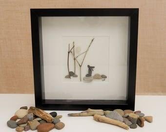 Pebble/Stone Art - 'Tranquillity'