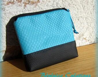"""Wallet """"joyful color"""" turquoise"""
