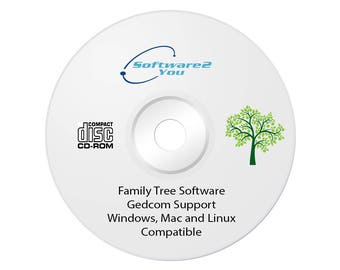 Family Tree / Genealogy Software for PC or MAC – get your family tree recorded before it's too late