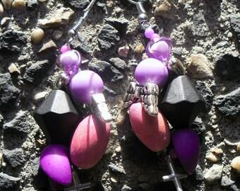 earrings (set of the same name) magic