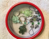 Turtle Stitch Markers Combination Set