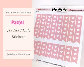 Pastel Stickers | Planner Stickers | To do Stickers | Checkout Stickers | Functional Stickers | ECLP | Erin Condren | Happy Planner | PS28