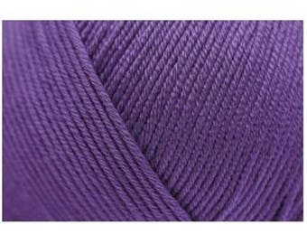 Rico, color purple 18 Cotton DK.