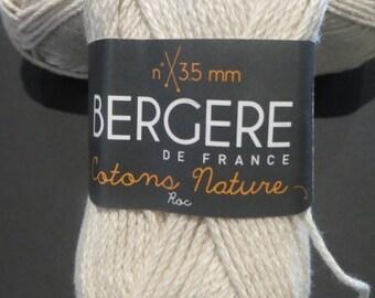 Natural cotton rock Bergère de France
