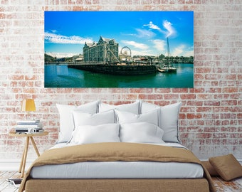 Canvas Print | Whispy Moments at Waterfront Cape Town, South Africa | Printable Wall Art | Canvas Wall Art | Canvas Wall Hanging