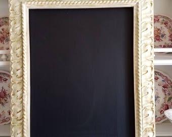 Vintage Frame Chalkboard 11 x 14 Vintage Style Decor shabby Chic