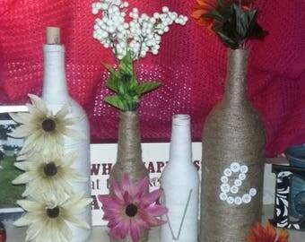 LOVE decor Vase set