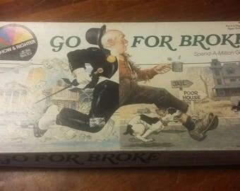 Go For Broke boardgame
