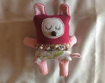 Pink Teddy bear Plushie