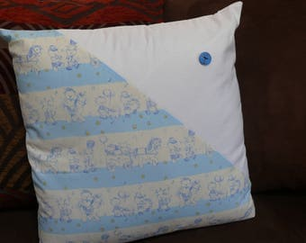 Kids cotton pillow cover