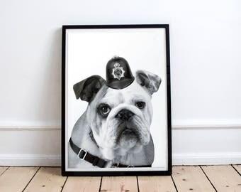 english dog poster