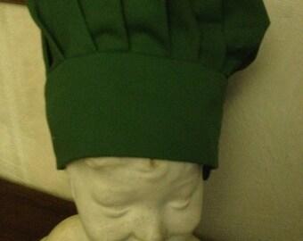 Genuine Green chef hat for children