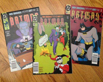 DC's The Batman Adventures #27, 28 & 29