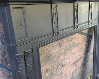 Cast iron fireplace / cast iron surround