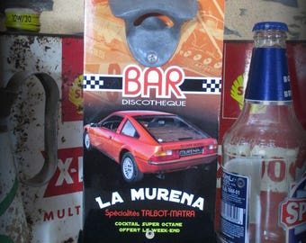 Wall bottle opener Talbot Matra Murena by deco cars