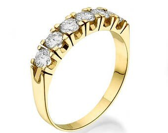 Diamonds Ring, 14K - 18K Gold + Diamonds