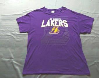Vintage 80s Los Angeles Lakers Tshirt