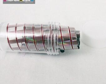 Transfer Foils, paper transfer Nail art design No. 5