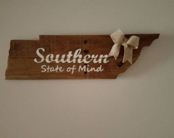TN reclaimed wood sign