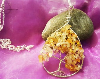 Citrine Wire Tree