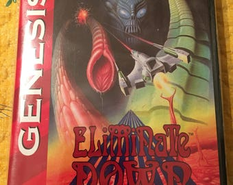 Elemental Down NTSC-U Genesis *Repro* CB, no manual