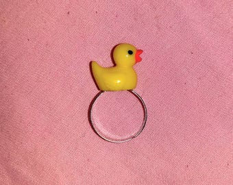 Happy go Ducky ring