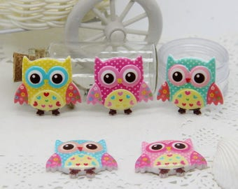 resin OWL figurine,