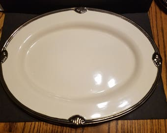 Certified International Karidesign 18 Inch Serving Platter