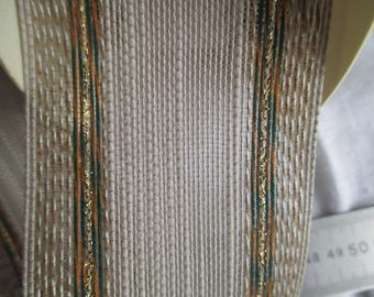 7 m Golden beige Ribbon