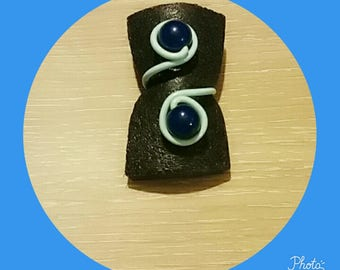 aluminum 2mm blue Adjustable ring