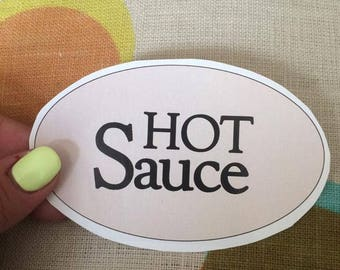 Beyonce Lemonade Hot Sauce Bat Sticker