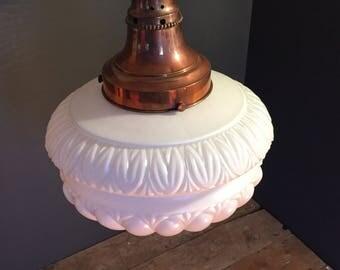 Edwardian Opaline pendant light