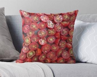 Tomato pillow cover