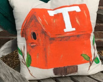 Tennessee Birdhouse Pillow Cover