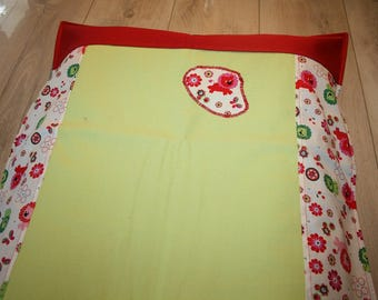 Changing pad cover and its empty pockets made of thick cotton