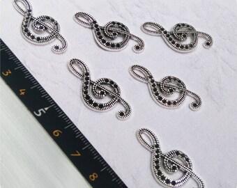 Silver Sol key pendant