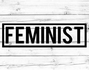 Feminist Decal, Feminism Decal, Equality Decal, Women's Rights, Vinyl Sticker, Vinyl Decal, Car Decal, Mug Decal