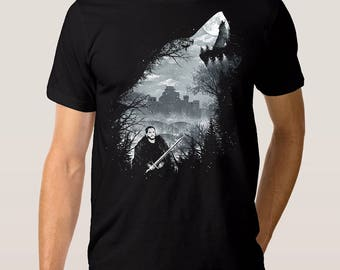 Game of Thrones Jon Snow T-shirt, Men's Women's All Sizes