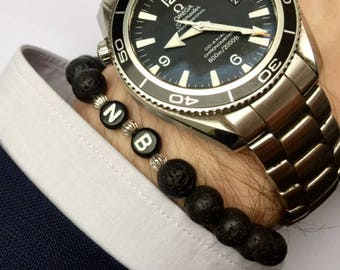 Personalised man bracelet
