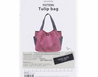 Pattern for a Tulip Bag ref:468p5 Kiyohara