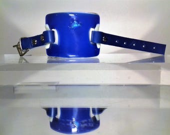 Blue and white Glass Bracelet