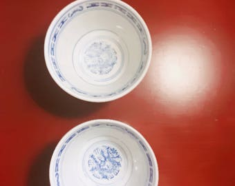 Ancient Chinese tea cup