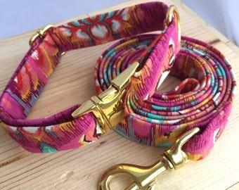 Namaste Dog Collar & Leash Set