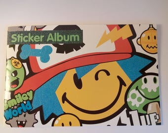 Notebook stickers - stickers - smiley, games, parties, children