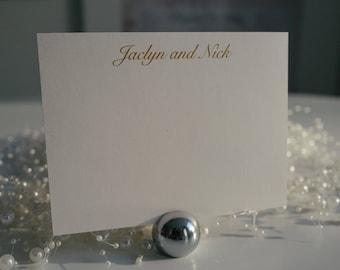 Wedding Thank You Card, Personalized Wedding Thank You Card, Thank You Card, Handmade Thank You Card, Thank You Cards, Custom notecards