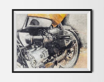Motorcycle Printable, Motorcycle Poster, BMW, Bmw Motorcycle, Man Cave Printable, Motorcycle Print,Motorcycle Art,Moto, INSTANT DOWNLOAD