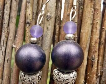 Sale earrings - On the moon...