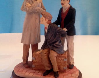 Sherlock Holmes The Master Detective Limited Edition Collectable Series - A Rat In A Trap